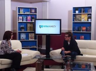 Meg Rosoff talking to Vanessa O'Loughlin at Writers Web TV