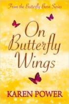on butterfly wings